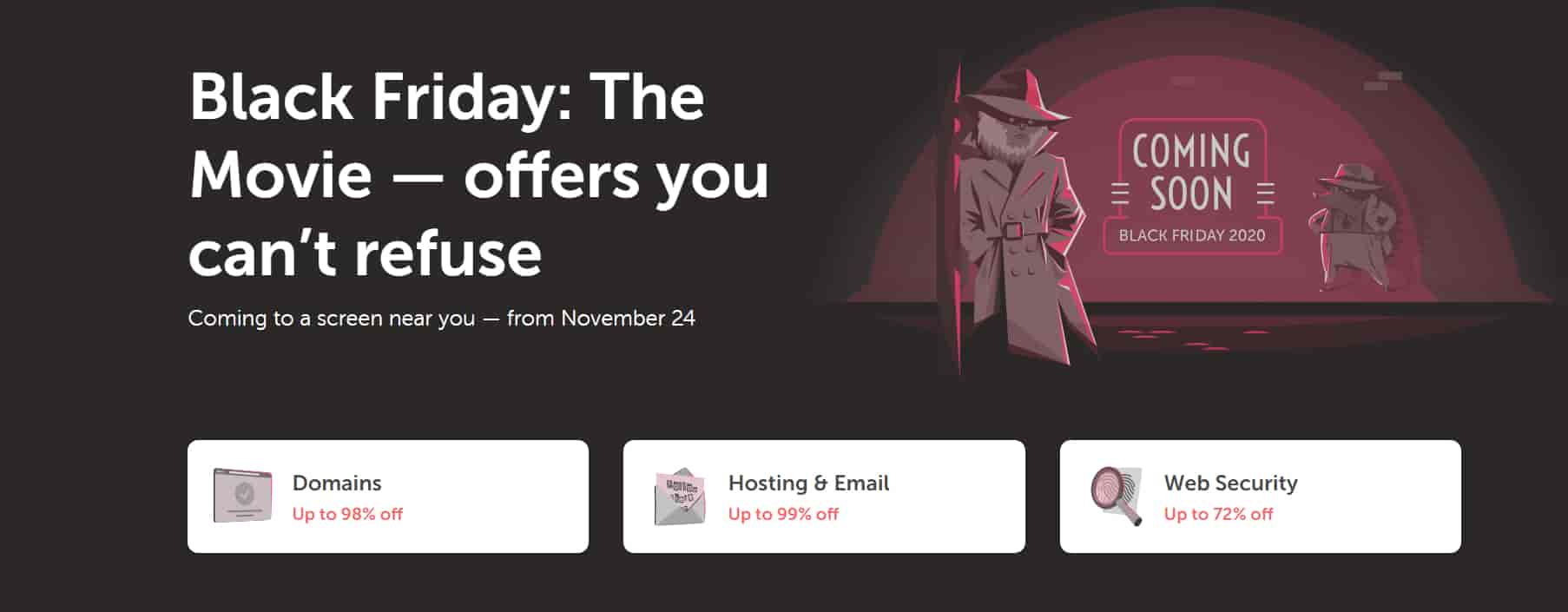 Namecheap Black Friday Deals 2020